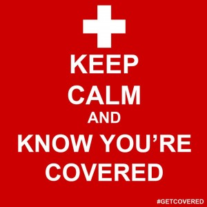 Keep Calm and Know You're Covered Logo
