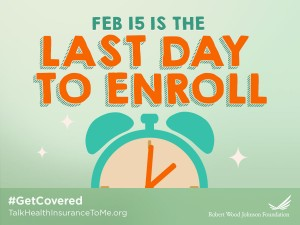 Logo for the Last Day to enroll