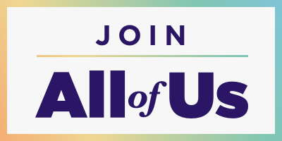 "Logo with ""Join All of Us"""